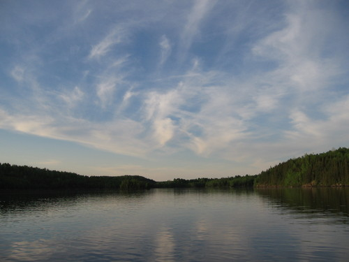 French River Clouds