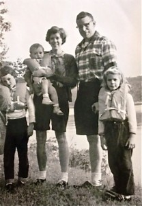 My family in 1962
