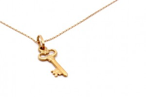 Gold Key Necklace