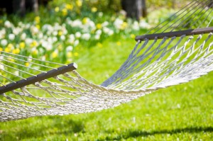 Make a date with a hammock...