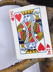 King of Hearts in tree