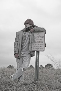 Homeless Series - No Trespassing