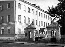 Dostoevsky's birthplace and hospital where his father worked