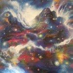 "Akiane's painting of ""The Creation"" at age 10"