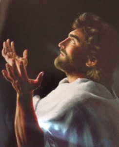 One of Akiane's paintings of Jesus when she was 9