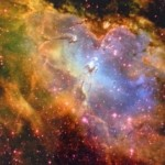 A photo from the Hubble Spacecraft